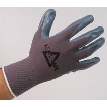 Keep Safe Nitrile Foam Palm Coated Glove