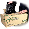 CleanWorks Medium Duty Black Polythene Refuse Sack