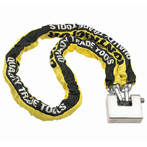 Professional Sleeved Security Chain with Padlock
