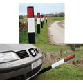 JSP Wychwood Flexible Verge Post with Class 1 Reflector
