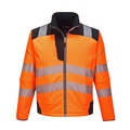 Portwest Vision High-Visibility Softshell Jacket - Orange