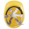 Keep Safe Pro Comfort Plus Full Peak Safety Helmet - Yellow