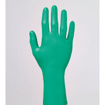 Juba Grippaz Ambidextrous Extra Strong Nitrile Glove - Green
