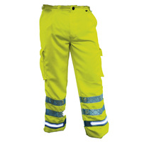 Fhoss Salus Self-Illuminating Safety Cargo Trousers - Tall