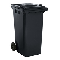 2 Wheel 240 LitreDustbin Grey