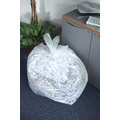 CleanWorks Clear Polythene Refuse Sacks 15Kg
