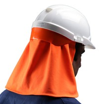 Centurion Helmet Sun Cape Hiigh Visibility Orange