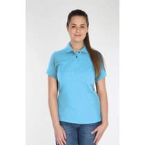 Endurance Ladies Polycotton Polo Shirt - Sky Blue