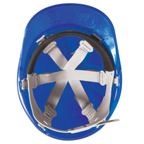 KeepSAFE Pro Comfort Plus Full Peak Safety Helmet - Blue