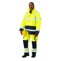 KeepSAFE EN 471 Two Tone High Visibility Safety Jacket