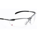 Keep Safe Pro 557 Metal Frame Safety Spectacles K & N Rated - Clear