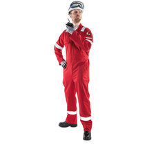 Roots Flamebuster Xtreme 310 Non-Metallic Red Coverall RO19095
