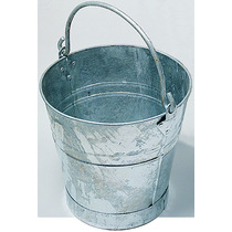 Spartan Galvanised Bucket