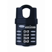 SpartanPro Closed Shackle Combination Padlock
