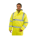 Keep Safe Pro High Visibility 3-in-1 Bomber Jacket with Detachable Fleece