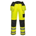 Portwest Vision Hi Vis trouser yellow