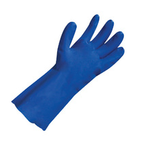 Polyco Nitri-Tech III Flock Lined Nitrile Glove Category III