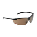 Keep Safe Pro 557 Metal Frame Safety Spectacles K & N Rated - Brown