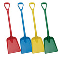 5625 Vikan Hygienic D Grip Plastic Shovel Red