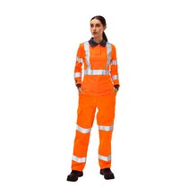 ProGarm® High Visibility Flame Resistant Women's Trousers - Orange -  Reg Leg