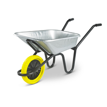 Galvanised Puncture Proof Wheelbarrow