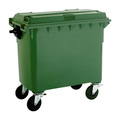 4 Wheel 660 Litre Dustbin