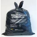 Degradable Medium Duty Black Refuse Sack