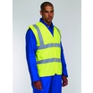 KeepSAFE High Visibility EN 471 Sleeveless Double Band and Brace Waistcoat