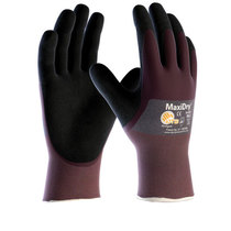 ATG MaxiDry® 56-425B ¾ Dipped Nitrile Dual Coated Glove