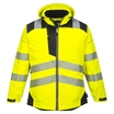 Portwest Vision High-Visibility Rain Jacket - Saturn Yellow