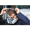 JSP Force 8 Half Mask Respirator with Press to Check P3 Construction Dust Filters