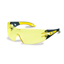 UVEX pheos Safety Spectacles K&N Rated Amber