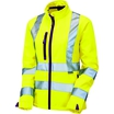 KeepSafe Pro Women's High-Visibility SoftShell Jacket - Yellow