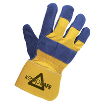 Keep Safe Superior Rigger Chrome Leather Glove
