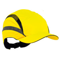Scott Safety First Base 3 HC23 Classic High Visibility Reduced Peak Bump Cap Yellow