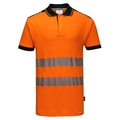 Portwest Hi-Vis Vision Polo Shirt Orange
