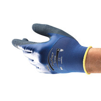 Ansell Hyflex® 11-925 ¾ Dipped Coated Nitrile Ultra-Light Glove