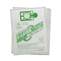 Vacuum Microfibre Dust Bags - fits Numatic & CleanBee Ovation Vacuum Cleaners