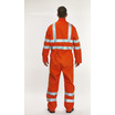 BlazeTEK High Visibility Rail Flame Retardant Coverall - Regular