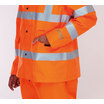 Keep Safe XT eVent High Visibility Rail Breathable Waterproof Safety Jacket