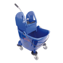 CleanWorks Combination Mop Bucket Blue