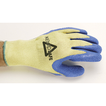 Keep Safe Pro Kevlar Grip Cut Resistant Level 3 Latex Grip Glove