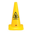 Caution Slippery Surface Cone