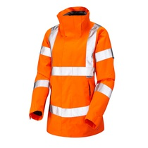 Leo Rosemoor Women's Waterproof and Breathable Jacket  - Orange