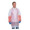 Catersafe Disposable Bib Aprons Red