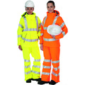 Keep Safe XT EN 471 Ladies Waterproof & Breathable Hi Visibility Jacket