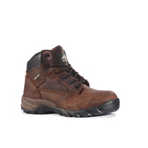 Rockfall Flint Brown Hiker Safety Boot with Midsole