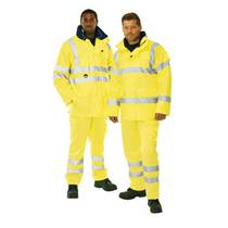Keep Safe Pro 3-in-1 High Visibility Breathable Safety Jacket