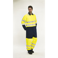 BlazeTEK High Visibility Contrast Flame Retardant Anti-Static Coverall - Regular