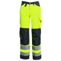 Tranemo Women's High-Visibility Trousers - Saturn Yellow